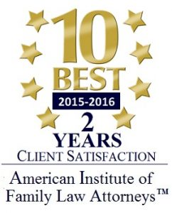Top 10 Best Divorce Lawyer Award 2016 Morgan Smith